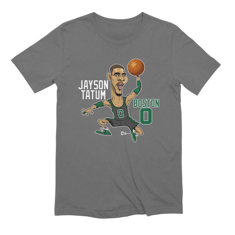 Jayson Tatum Men's T-Shirt by JoeCorrao4EA's Artist Shop