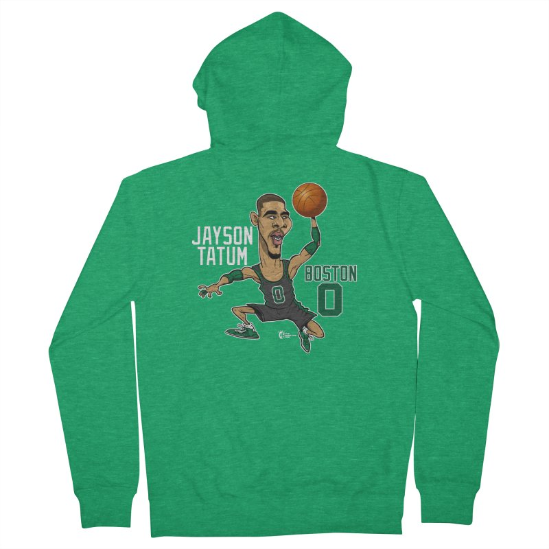 Jayson Tatum Men's Zip-Up Hoody by JoeCorrao4EA's Artist Shop