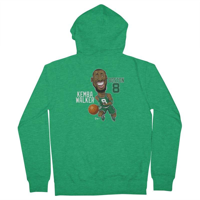 Kemba Walker Men's Zip-Up Hoody by JoeCorrao4EA's Artist Shop