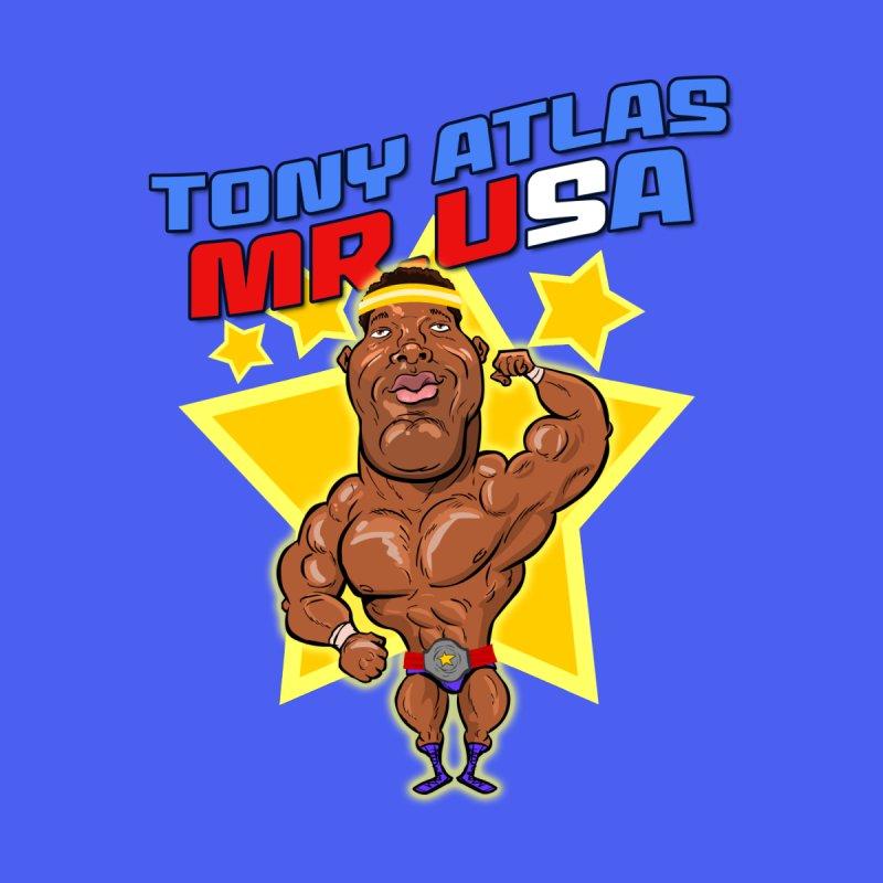 Tony Atlas Mr. USA Men's T-Shirt by JoeCorrao4EA's Artist Shop