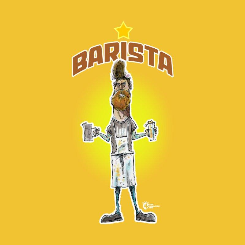 Barista Men's T-Shirt by JoeCorrao4EA's Artist Shop