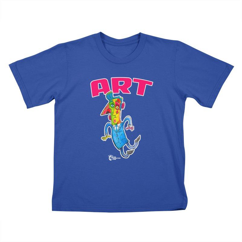 ART Kids T-Shirt by JoeCorrao4EA's Artist Shop