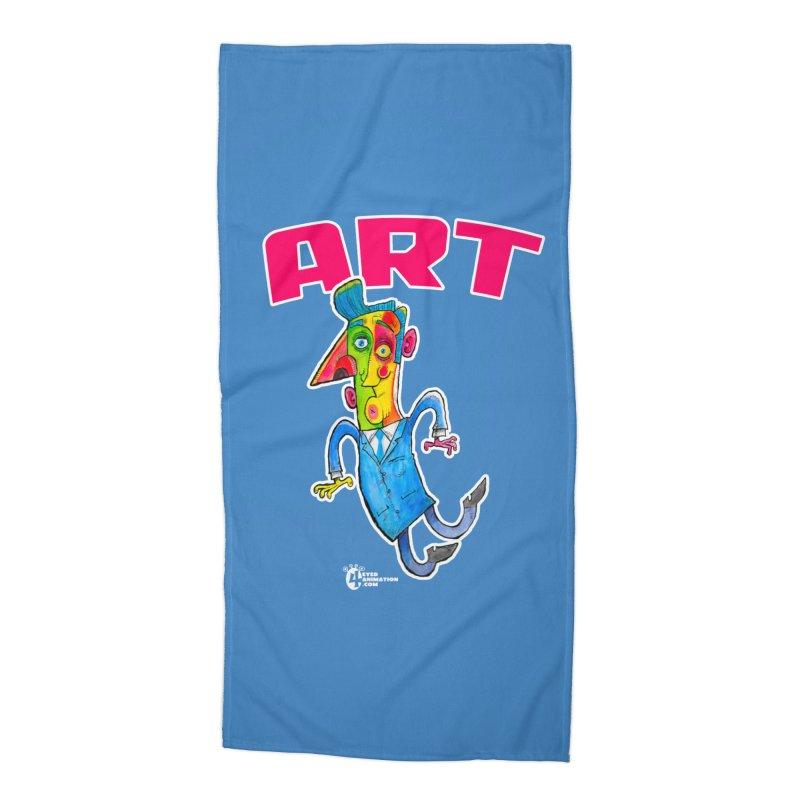 ART Accessories Beach Towel by JoeCorrao4EA's Artist Shop