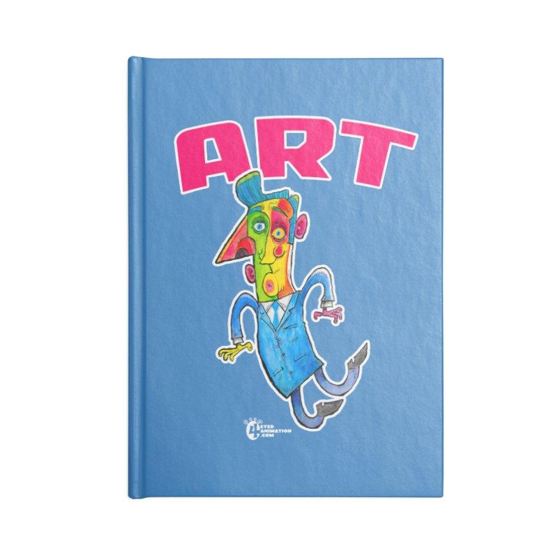 ART Accessories Notebook by JoeCorrao4EA's Artist Shop