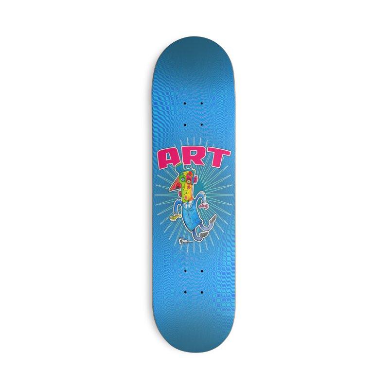 ART Accessories Skateboard by JoeCorrao4EA's Artist Shop