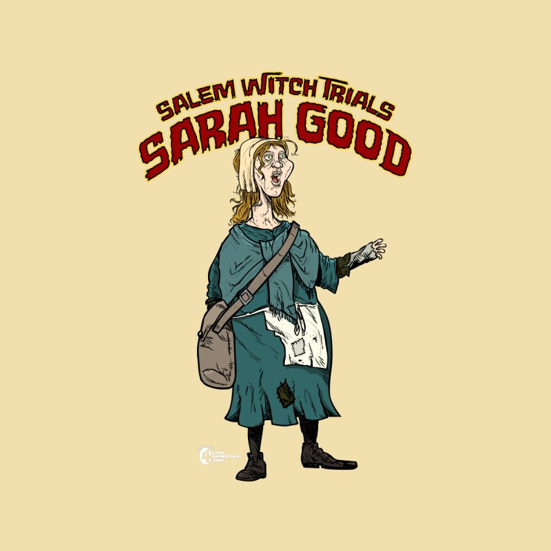 Salem Witch Trial Sarah Good Accessories Face Mask by JoeCorrao4EA's Artist Shop