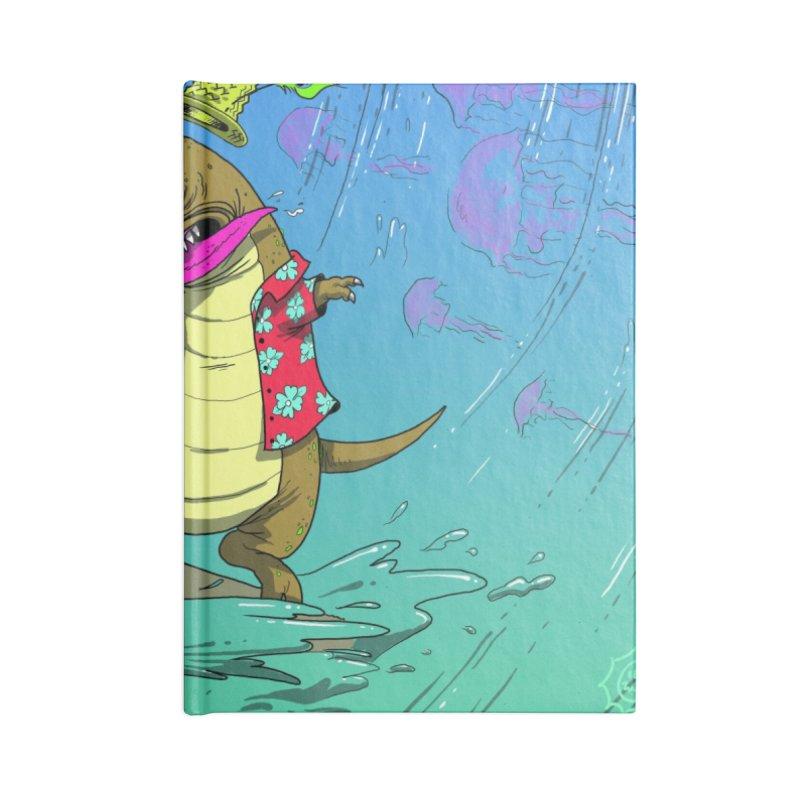 Hawaiian Dinosaur Accessories Notebook by JoeMarrcinekBand's Artist Shop