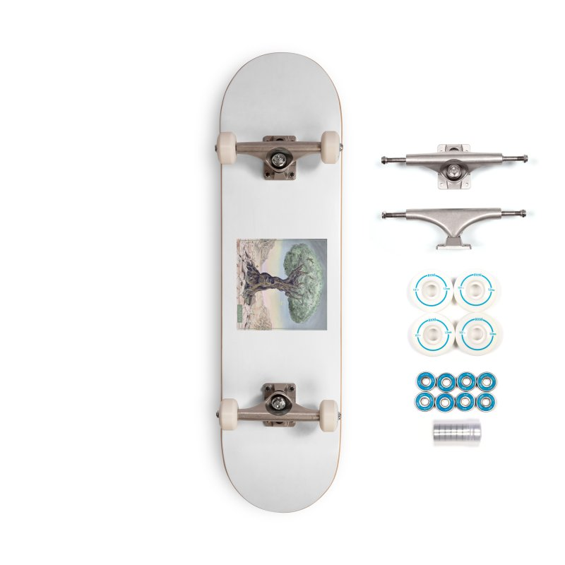 JMB4 Album Cover Art Accessories Skateboard by JoeMarrcinekBand's Artist Shop