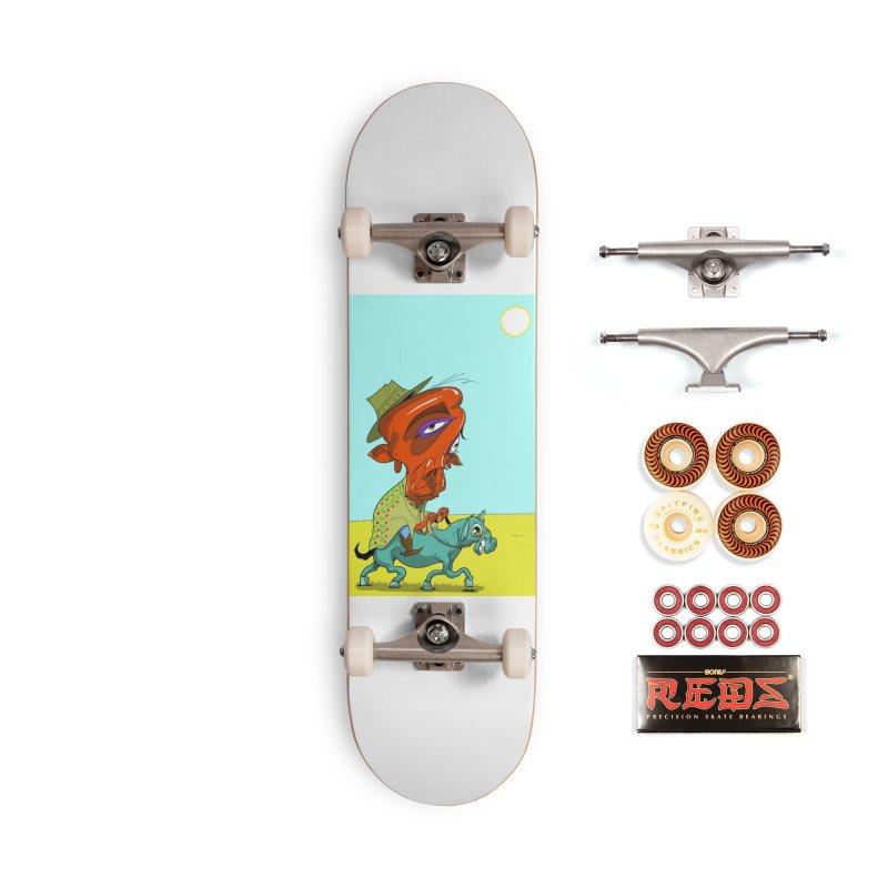 JF Blues Accessories Skateboard by JoeMarrcinekBand's Artist Shop