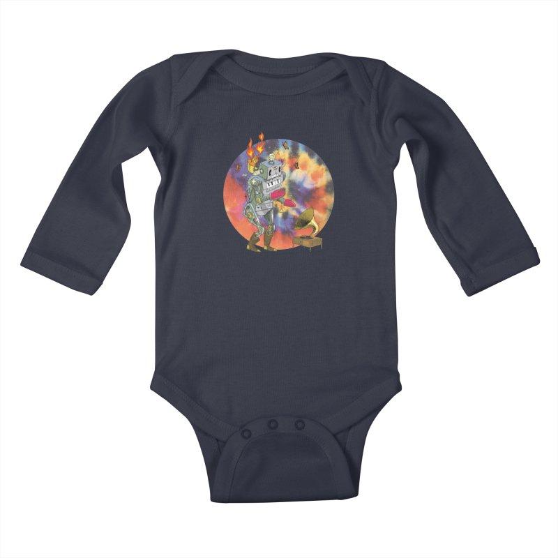 Dance Factory Kids Baby Longsleeve Bodysuit by JoeMarrcinekBand's Artist Shop