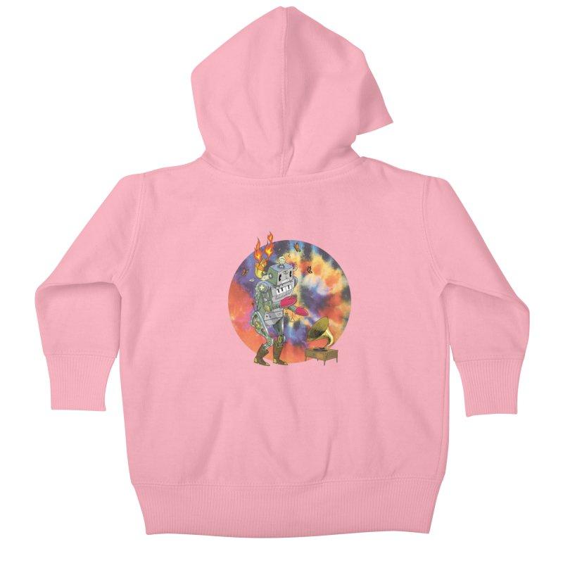 Dance Factory Kids Baby Zip-Up Hoody by JoeMarrcinekBand's Artist Shop