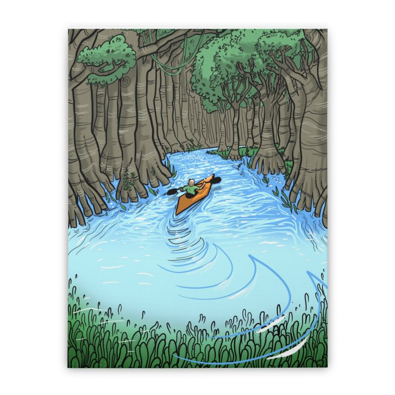 Yes! Home Stretched Canvas by JoeMarrcinekBand's Artist Shop