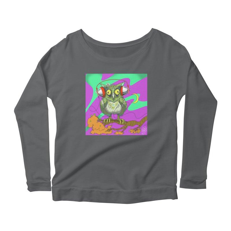 Night Owl Women's Longsleeve T-Shirt by JoeMarrcinekBand's Artist Shop