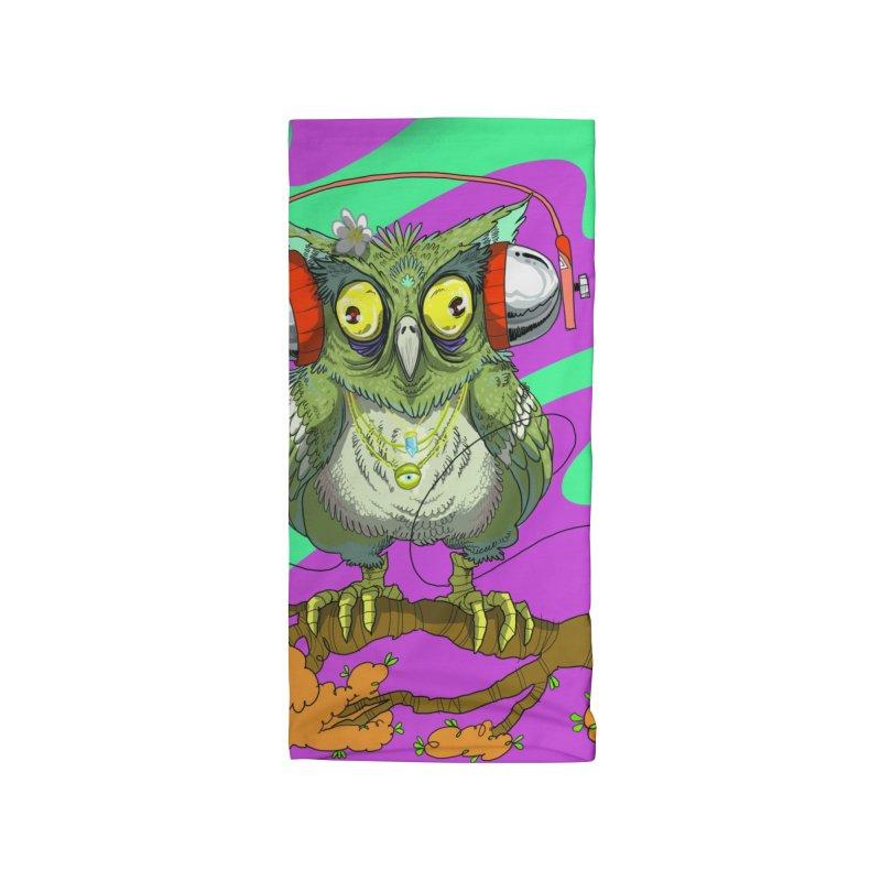 Night Owl Accessories Neck Gaiter by JoeMarrcinekBand's Artist Shop