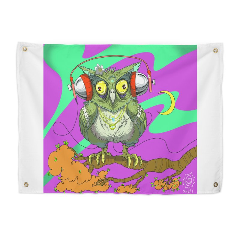 Night Owl Home Tapestry by JoeMarrcinekBand's Artist Shop