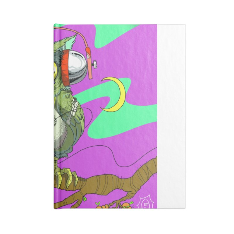 Night Owl Accessories Notebook by JoeMarrcinekBand's Artist Shop