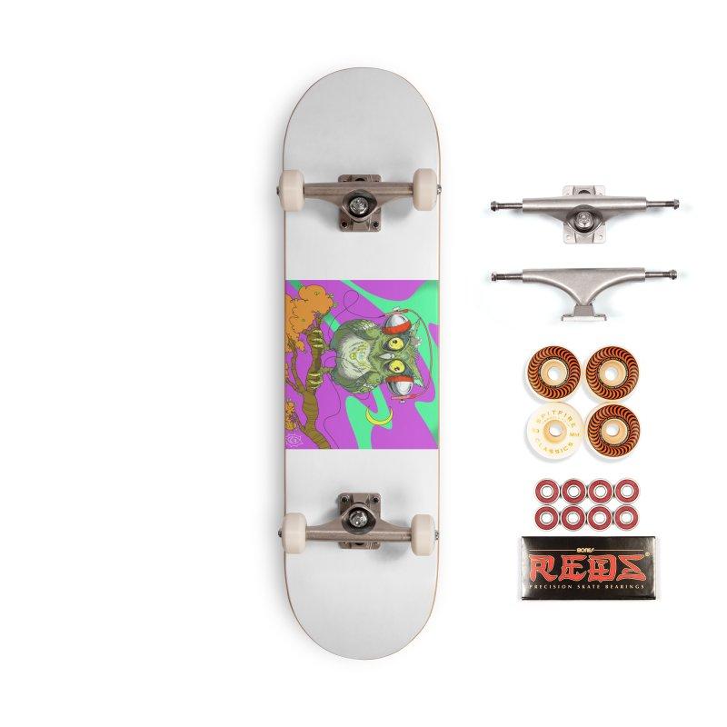 Night Owl Accessories Skateboard by JoeMarrcinekBand's Artist Shop