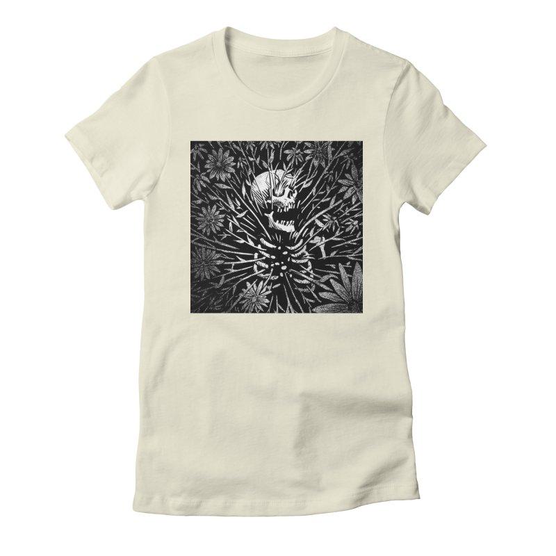 Flower Shirt Women's T-Shirt by Joe Ruff's Artist Shop