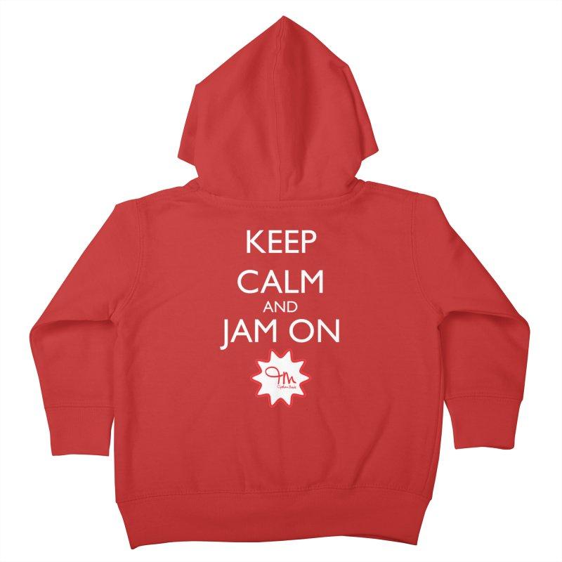 Jam on Kids Toddler Zip-Up Hoody by JohariMade's Artist Shop