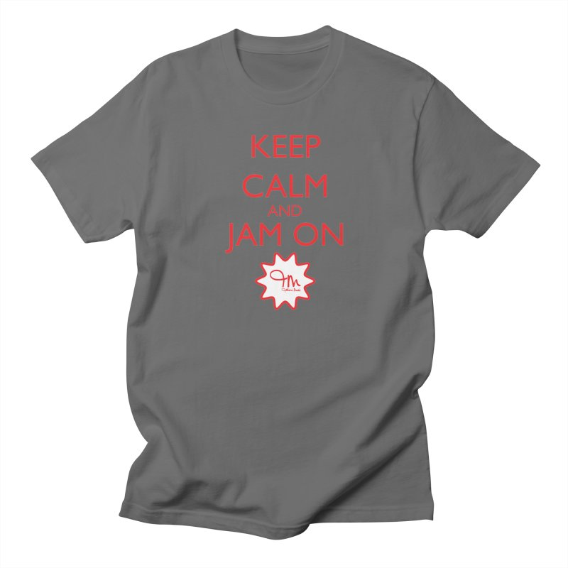 Jam on (RED) Men's T-Shirt by JohariMade's Artist Shop