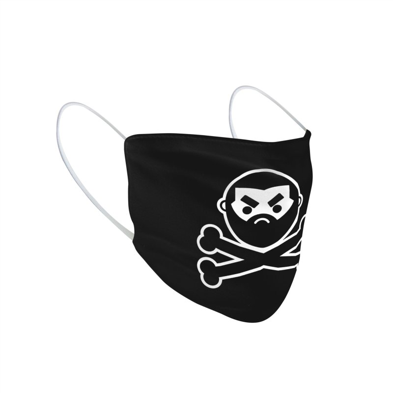 John Chaos Crossbones Accessories Face Mask by John Chaos Sideshow Official Store