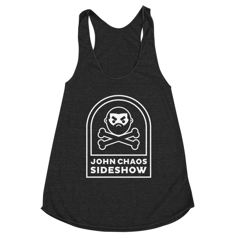 John Chaos Sideshow Tombstone Women's Tank by John Chaos Sideshow Official Store