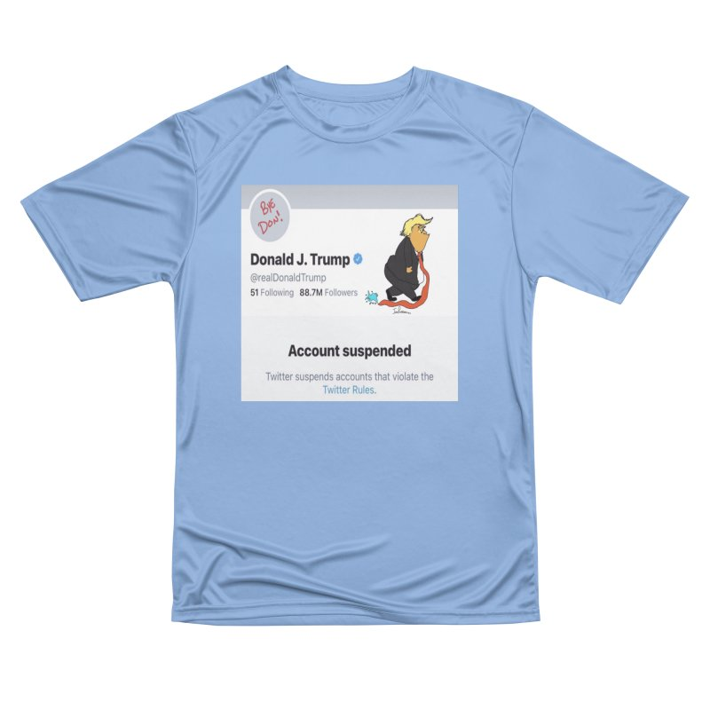 BYE DON Men's T-Shirt by John Poveromo's Artist Shop