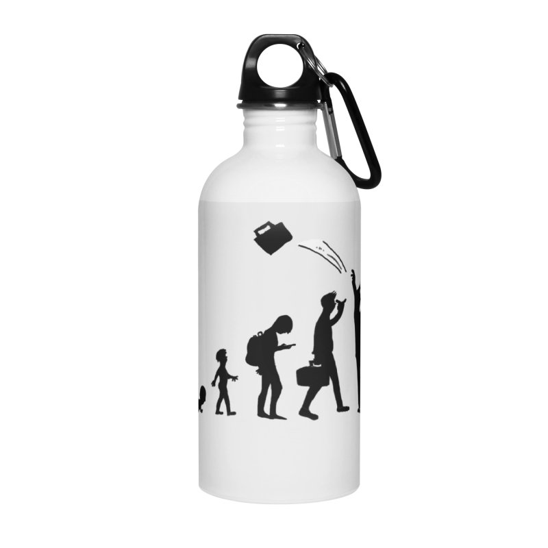 Comic Evolution Accessories Water Bottle by John Poveromo's Artist Shop