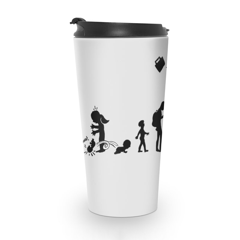 Comic Evolution Accessories Travel Mug by John Poveromo's Artist Shop