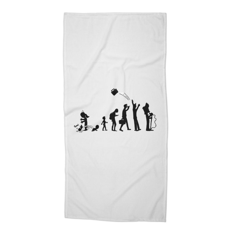 Comic Evolution Accessories Beach Towel by John Poveromo's Artist Shop