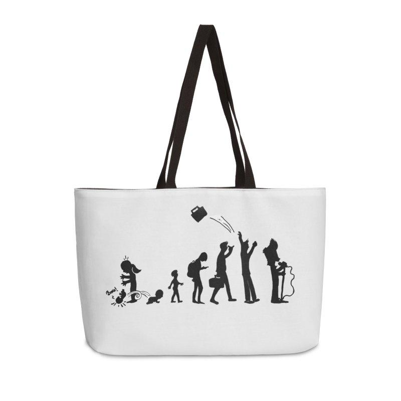 Comic Evolution Accessories Weekender Bag Bag by John Poveromo's Artist Shop