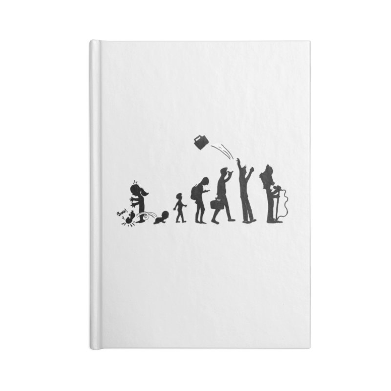 Comic Evolution Accessories Lined Journal Notebook by John Poveromo's Artist Shop