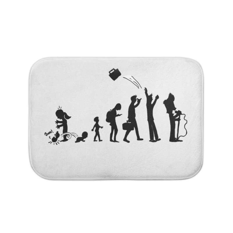 Comic Evolution Home Bath Mat by John Poveromo's Artist Shop