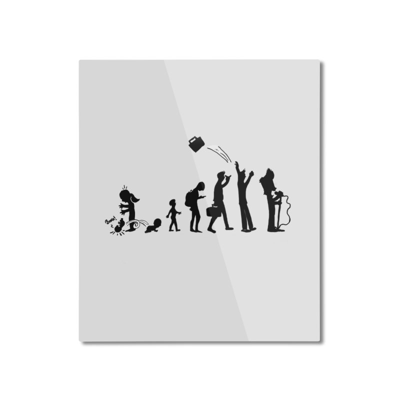 Comic Evolution Home Mounted Aluminum Print by John Poveromo's Artist Shop