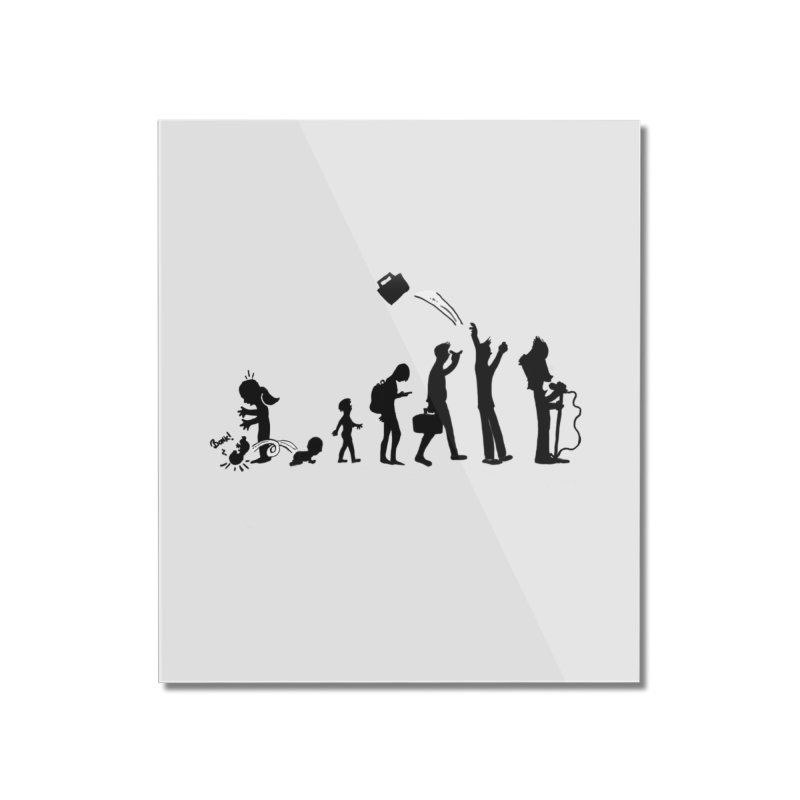 Comic Evolution Home Mounted Acrylic Print by John Poveromo's Artist Shop