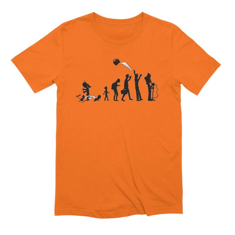 Comic Evolution Men's Extra Soft T-Shirt by John Poveromo's Artist Shop