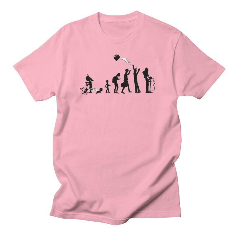 Comic Evolution Men's Regular T-Shirt by John Poveromo's Artist Shop
