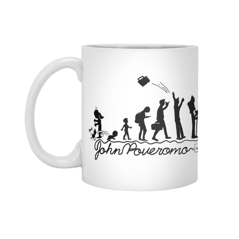 Comic Evolution (Dot Net Edition) Accessories Mug by John Poveromo's Artist Shop