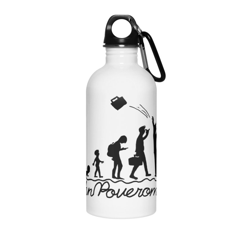 Comic Evolution (Dot Net Edition) Accessories Water Bottle by John Poveromo's Artist Shop
