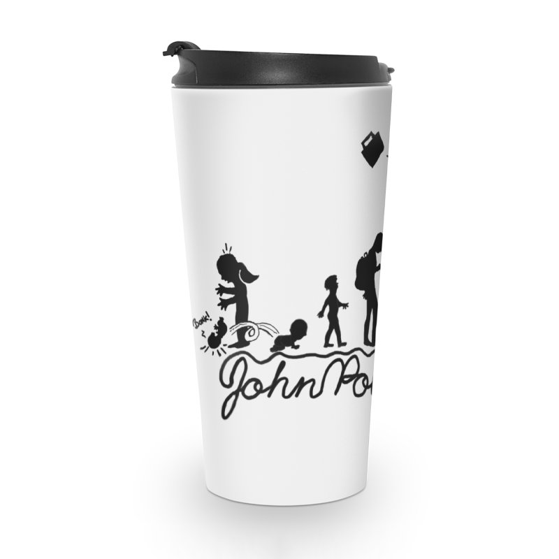 Comic Evolution (Dot Net Edition) Accessories Travel Mug by John Poveromo's Artist Shop