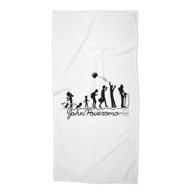 Comic Evolution (Dot Net Edition) Accessories Beach Towel by John Poveromo's Artist Shop