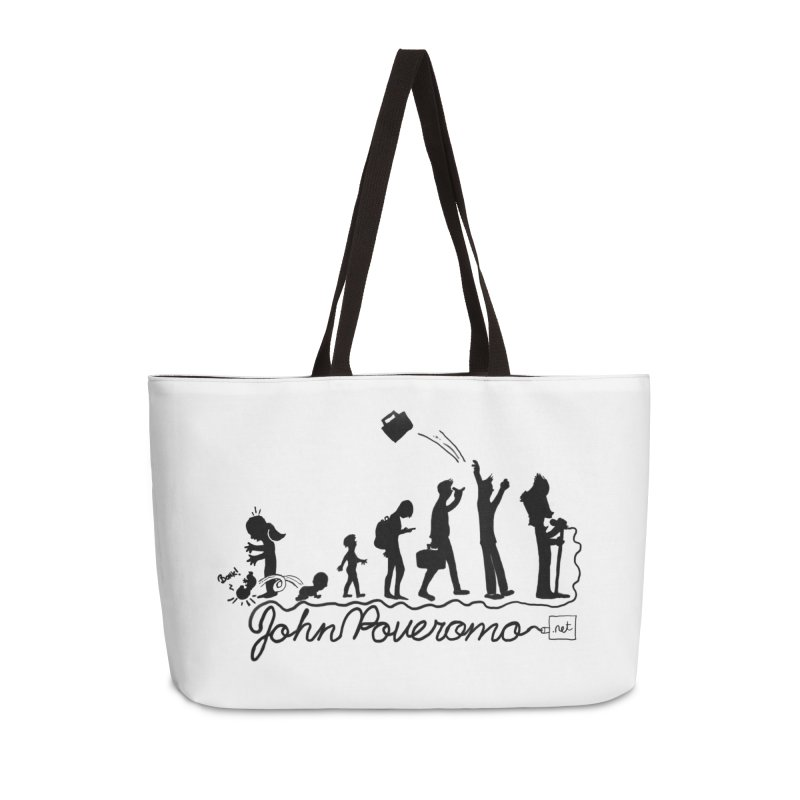 Comic Evolution (Dot Net Edition) Accessories Weekender Bag Bag by John Poveromo's Artist Shop