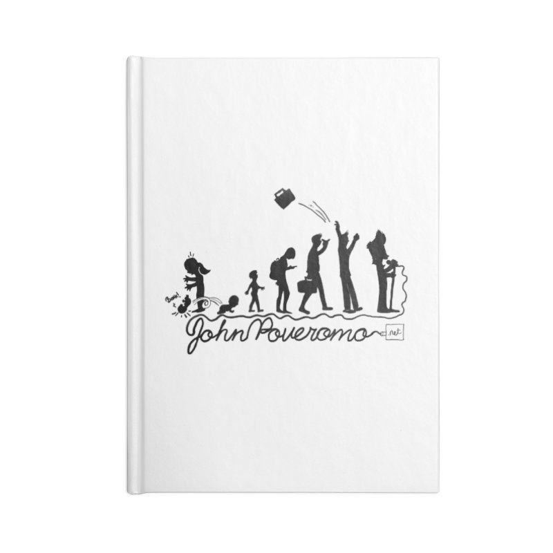 Comic Evolution (Dot Net Edition) Accessories Blank Journal Notebook by John Poveromo's Artist Shop
