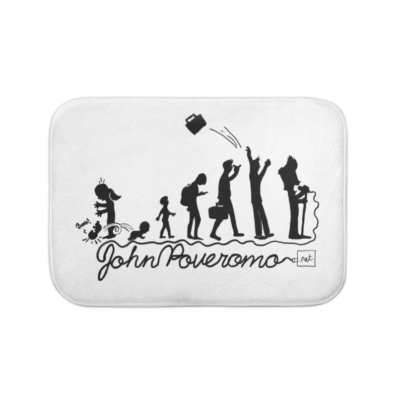 Comic Evolution (Dot Net Edition) Home Bath Mat by John Poveromo's Artist Shop
