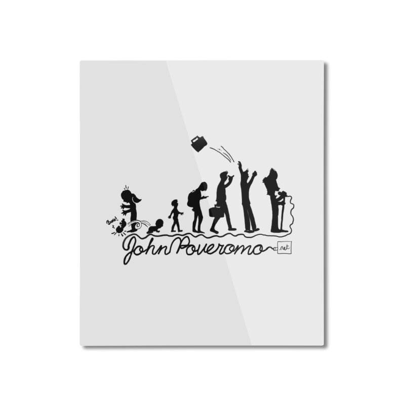 Comic Evolution (Dot Net Edition) Home Mounted Aluminum Print by John Poveromo's Artist Shop
