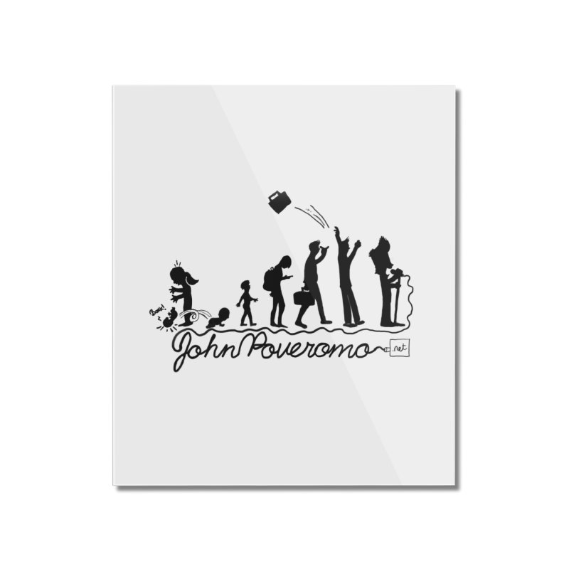 Comic Evolution (Dot Net Edition) Home Mounted Acrylic Print by John Poveromo's Artist Shop