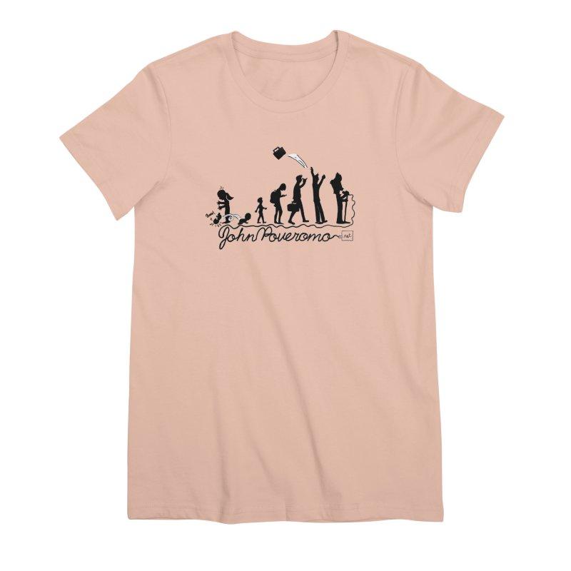 Comic Evolution (Dot Net Edition) Women's Premium T-Shirt by John Poveromo's Artist Shop