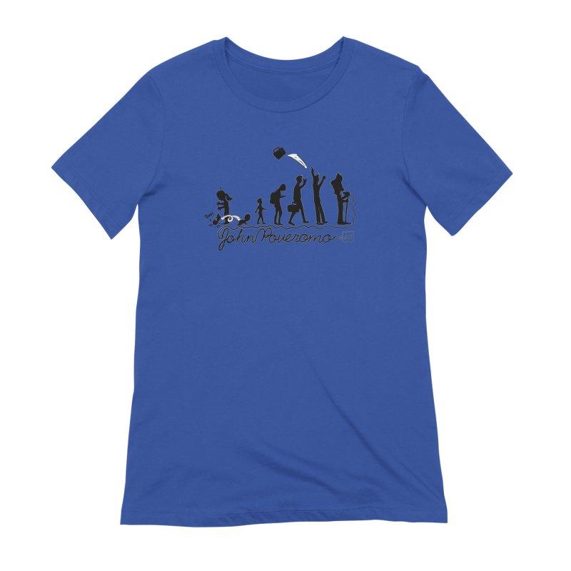 Comic Evolution (Dot Net Edition) Women's Extra Soft T-Shirt by John Poveromo's Artist Shop