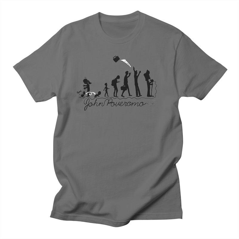 Comic Evolution (Dot Net Edition) Men's T-Shirt by John Poveromo's Artist Shop