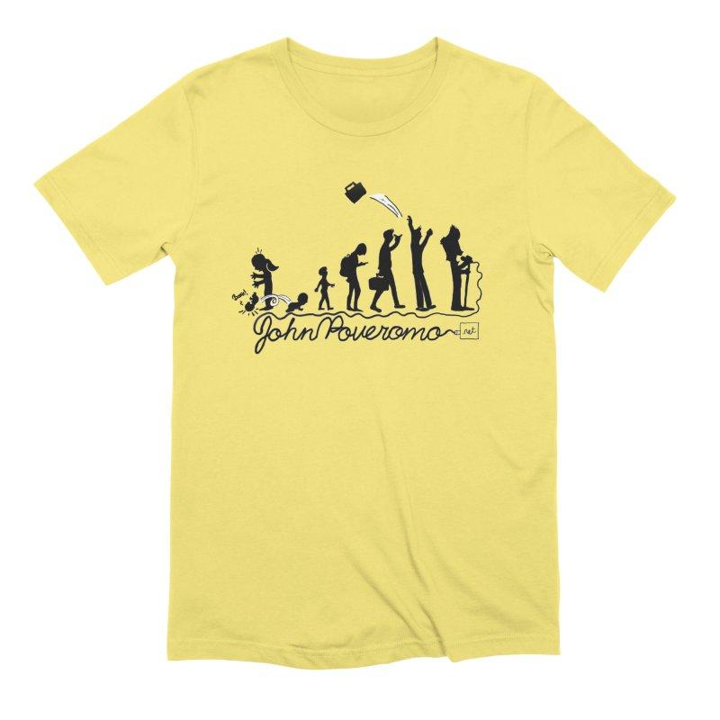 Comic Evolution (Dot Net Edition) Men's Extra Soft T-Shirt by John Poveromo's Artist Shop